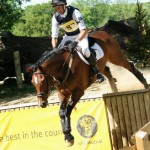 Mark Todd and NZB Campino win at Hartpury