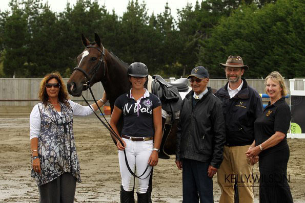 Xtreme day - Henton Evita after her Mare performance test