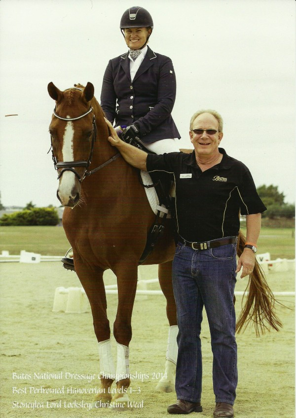 Christine Weal and Stoneylea Lord Locksley